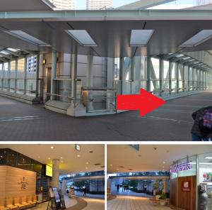 アクセス行き方リストランテ マンジャーレ ウォーターエッジ YOKOHAMA × 横浜アートグレイス・ポートサイドヴィラ