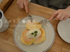 フリッパーズ 元町 奇跡のパンケーキ スフレパンケーキ