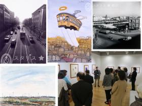懐かしい横浜の風景に、思いを馳せてみませんか?「横浜市民ギャラリーコレクション展2018 写真と素描でたどる横浜 1950-1980 年代を中心に」 3 月 2 日(金)~ 18 日(日) 横浜市民ギャラリー(横浜市西区宮崎町)は、1964 年の開設から、企画展や海外の姉妹友好都市との交流展、横浜にゆかりのある作家の個展など、さまざまな展覧会を行ってきました。展覧会を機に収蔵した所蔵作品は、およそ1,300 点におよびます。この所蔵作品を、年に一度「コレクション展」として公開しています。 公益財団法人 横浜市芸術文化振興財団