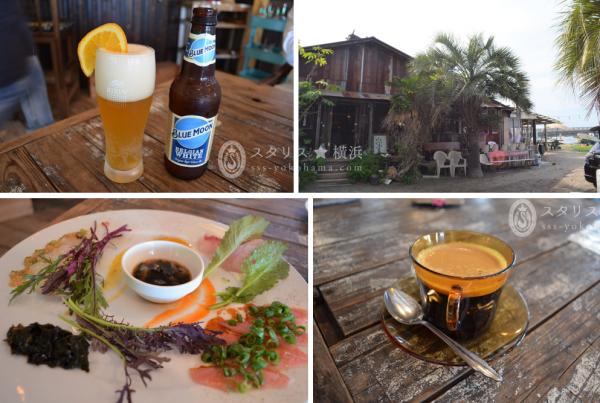 横須賀・走水海岸に佇む漁師小屋をリノベーションしたカフェ&レストラン「かねよ食堂」。 オーナー漁師がとってきてくれる、新鮮な魚を使ったお料理だけでなく、和食・洋食・エスニックなどなど楽しい選択肢が広がり、写真も美しく撮れるので自信を持ってオススメします。