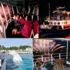 • 花火と音楽がシンクロしたシーパラダイスのオリジナル花火ショー! 『花火シンフォニア』 『横浜・八景島シーパラダイス』の「花火シンフォニア」は、コンピュータにより花火と音楽、照明がシンクロ した、シーパラダイスのオリジナル花火ショーです。 楽曲とそれに呼応して輝く花火たちは、夏の夜空を舞台に、まるで踊るかのように鮮やかな軌跡を描きながら「踊り、きらめき、飛び跳ね」、見る人すべてを花火シンフォニアの世界へと引き込んでいきます。夜空に打ちあがる色とりどりの花火と海面に揺らぐ花火の影光が合わさり、海に囲まれた島ならではの巨大パノラマで繰り広げられます。 開業25周年となる今年は、水族館の枠を超えてさまざまな取り組みを行ってきたシーパラにちなみ、ポップス、ロック、ダンスなどのジャンルの音楽を組み合わせ、さまざまな表情の花火をお楽しみいただけるプログラムをご用意いたしました。 今年の夏も毎週土曜日とお盆期間を中心に開催いたします。シーパラの夏を彩る風物詩を、是非ご自身で体感し、最高の夏の思い出をお作りください。