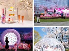 お花見CHANDONで春の訪れを楽しむ「CHANDON Blossom Lounge」が3月15日(金)よりオープン! 米津智之氏との華やかなコラボレーションボトルで東京ミッドタウン舞台にスタイリッシュに彩る MHD モエ ヘネシー ディアジオ株式会社 2019年2月26日 17時54分 MHD モエ ヘネシー ディアジオ株式会社は、2019年3月15日(金)よりオーストラリアのプレミアム スパークリングワイン『CHANDON』が、ポップでスタイリッシュに春を彩る恒例のプロモーション「お花見CHANDON」の一環として、昨年に引き続き「CHANDON Blossom Lounge(シャンドン ブロッサム ラウンジ)」を2019年3月15日(金)~4月14日(日)の1ヶ月間、期間限定で東京ミッドタウンにオープンいたします。