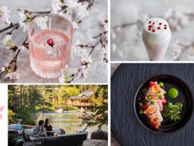 """フォーシーズンズホテル京都(所在地:京都市東山区妙法院前側町、総支配人:アレックス・ポーティアス)では、さくら咲く麗しい季節を迎えるにあたり、2019年3月16日(土)〜4月14日(日)の期間限定で、""""さくらスペシャル""""と銘打ったおもてなしメニューをご提供いたします。 桜前線の到来とともに、円山公園では薄紅色の花びらが軽やかに舞い、哲学の道をそぞろ歩けば疎水に花筏が漂います。頭上にも眼下にもさくらが広がる、ひときわ麗しい季節に合わせ、当ホテルではアフタヌーンティー、スイーツ、ランチ、カクテルなど、桜をテーマにしたおもてなしを多彩にご用意いたしました。800年の歴史を紡ぐ池庭「積翠園」を目の前に望める、オープンエアが気持ちの良い「ブラッスリー」のテラス席もオープン。ご家族や親しい方とご一緒に、五感で春のよろこびをどうぞご堪能ください。"""