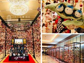 総数約6,800個の「つるし飾り」 京王プラザホテルでは、2月1日(金~3月28 日(木)の約2か月間、「ホテルで楽しむひなまつり」を開催しています。