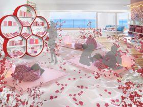 星野リゾート リゾナーレ熱海 日本一早咲きの梅と、一足先に春の訪れを楽しむイベント 「熱海、梅日和」開催 期間:2020年1月9日〜3月15日 星野リゾート 2019-10-17 12:00 熱海の温泉と絶景に浸るリゾートホテル「星野リゾート リゾナーレ熱海」では、2020年1月9日~3月15日の期間、日本一早咲きの梅と、一足先に春の訪れを楽しむイベント「熱海、梅日和」を開催します。ホテル最上階にビーチを再現した空間「ソラノビーチBooks&Cafe」には、熱海梅園の梅の枝を活かした「梅の木オブジェ」で彩る「梅の花咲くビーチ」が登場します。室内での花見や「梅ブックシェルフ」から選ぶ本で読書、梅シロップ作り体験など、熱海の早春の象徴である梅を満喫できるコンテンツを揃えたイベントです。