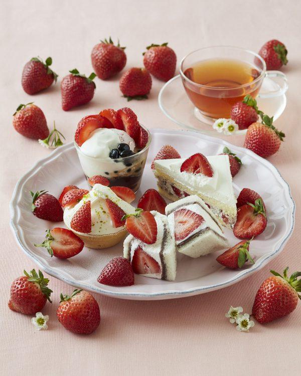 "【Afternoon Tea】""いちごの日""には苺が3倍に!『HAPPY STRAWBERRY'S DAY!』には、3日間限定で苺のスペシャルメニューが登場 1月15日、2月5日、2月19日の3日間限定!全国のアフタヌーンティー・ティールームほかで開催"