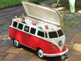 【大迫力、VW T1バスの大型クーラーボックス】が7月入荷予定! 予約受付販売開始! 数量限定でVWバスのクーラーボックスの試験的予約販売を開始。