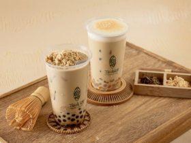 台湾茶とタピオカ専門店『TEA18』の新作は和を感じる「きな粉ほうじ茶」! 9月1日スタート!きな粉とほうじ茶をあわせた「きな粉ほうじ茶ミルクティー」を販売!
