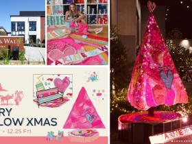 "LAで話題のかぎ針編みストリートアーティスト""ロンドン・ケイ""が日本初のソロアートエキシビジョンを展開!MARINE & WALK YOKOHAMAで、""Merry Mellow Xmas""開催! ~屋外装飾でクリスマスを演出!11月21日(土)から毎週末Xmas MARKETも開催~ 期間:2020年11月7日(土)~12月25日(金)"