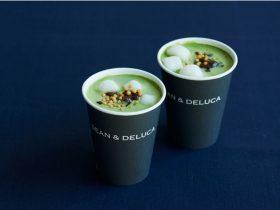 【DEAN & DELUCA】<新発売>シーズナルドリンク 新年を祝う「抹茶しるこ」  12月26日(土)から1月14日(木)まで期間限定発売。