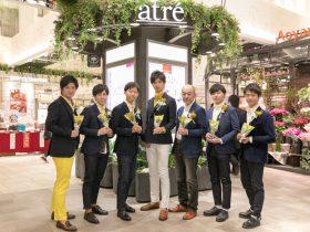 """3月8日はミモザの日!アトレ川崎で""""花贈り男子""""など 「MIMOSA FESTA 2020」関連イベントを開催!"""