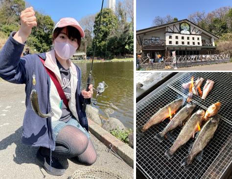 フィッシュオン王禅寺 釣り BBQ