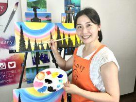 ◆心を癒すアートなお仕事◎Zoomで安心のペイントインストラクター認定講座