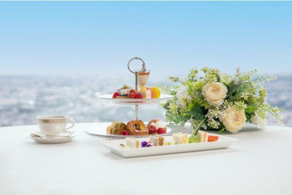 """地上70階からの絶景を眺めながら「プライベート空間で過ごすスカイアフタヌーンティー」プランを販売/""""地産地消""""をテーマにしたお料理と紅茶を提供"""